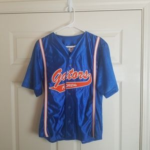 Florida Gators Vintage Baseball Patch Jersey Youth
